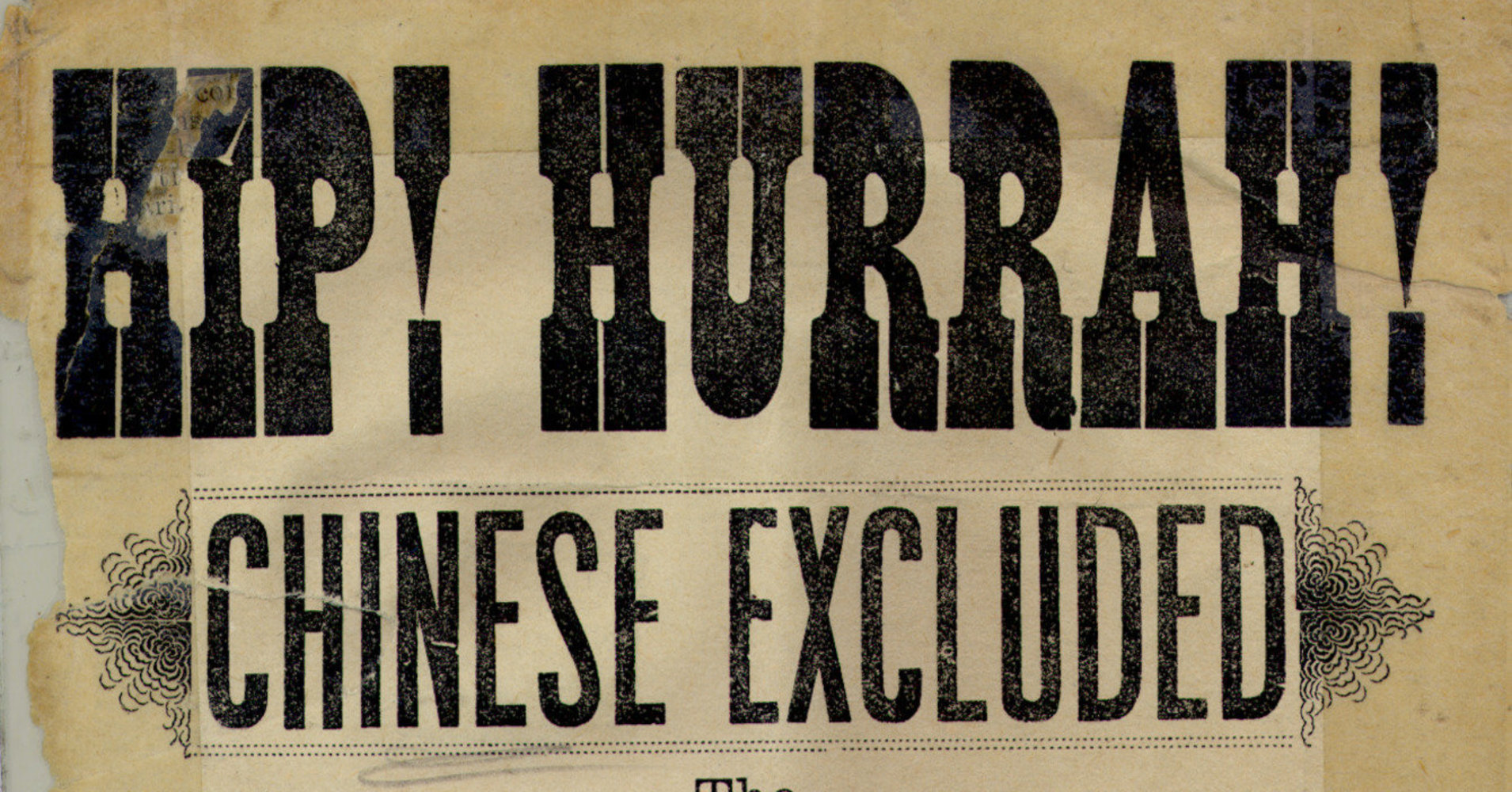chinese exclusion